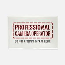 Professional Camera Operator Rectangle Magnet