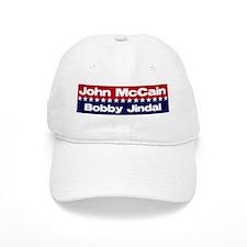 McCain Jindal Baseball Cap