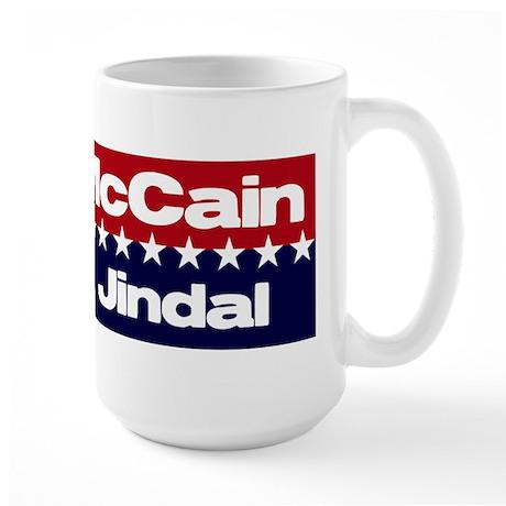 McCain Jindal Large Mug
