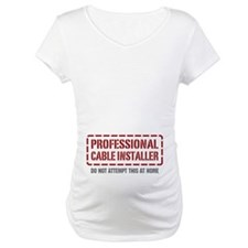 Professional Cable Installer Shirt