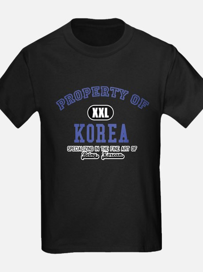 Property of Korea T