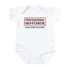 Professional Butcher Infant Bodysuit