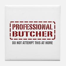 Professional Butcher Tile Coaster