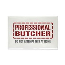 Professional Butcher Rectangle Magnet