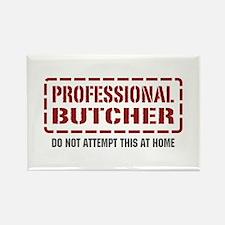 Professional Butcher Rectangle Magnet