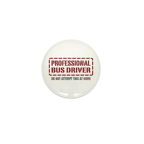 Professional Bus Driver Mini Button (10 pack)