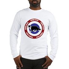 Border Collie Bullseye Long Sleeve T-Shirt