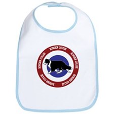 Border Collie Bullseye Bib