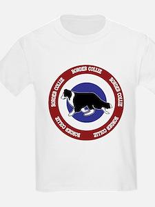 Border Collie Bullseye T-Shirt