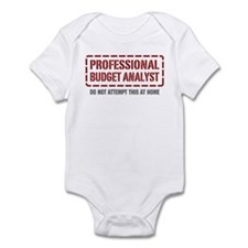Professional Budget Analyst Infant Bodysuit