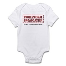 Professional Broadcaster Infant Bodysuit