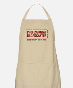 Professional Broadcaster BBQ Apron