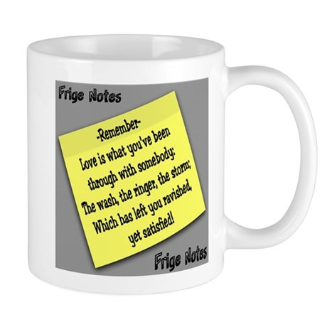 Love is what you've been through Mug