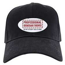 Professional Boomerang Thrower Baseball Hat