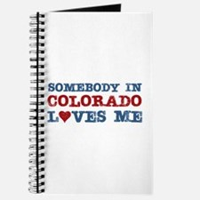 Somebody in Colorado Loves Me Journal