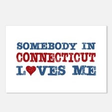 Somebody in Connecticut Loves Me Postcards (Packag