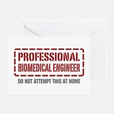 Professional Biomedical Engineer Greeting Card