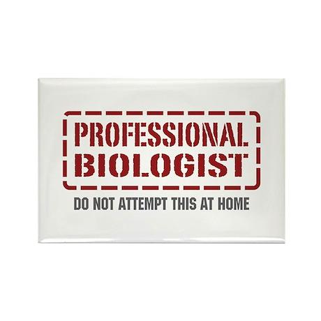 Professional Biologist Rectangle Magnet