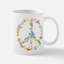 Abstract Art Peace Sign Mug