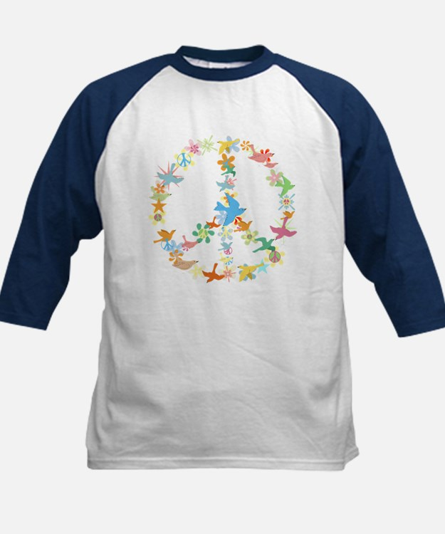 Abstract Art Peace Sign Tee