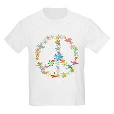 Abstract Art Peace Sign T-Shirt