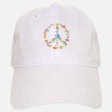 Abstract Art Peace Sign Baseball Baseball Cap