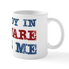 Somebody in Delaware Loves Me Mug