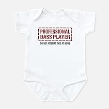 Professional Bass Player Infant Bodysuit