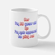 66th birthday pity sex Mug