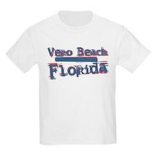 Vero Beach Florida Vintage Art T-Shirt