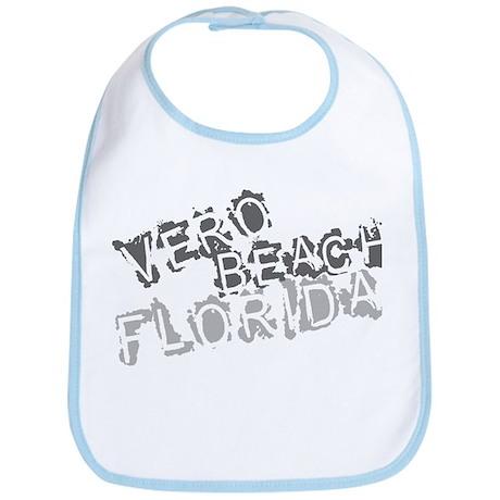 Vero Beach Florida City Souvenir Bib