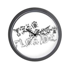 Vero Beach Florida City Souvenir Wall Clock