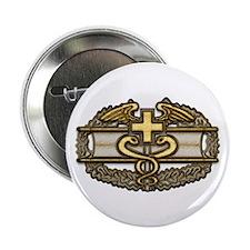 "Combat Medic(gold) 2.25"" Button"