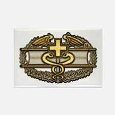 Combat Medic(gold) Rectangle Magnet