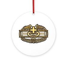 Combat Medic(gold) Ornament (Round)