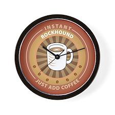 Instant Rockhound Wall Clock