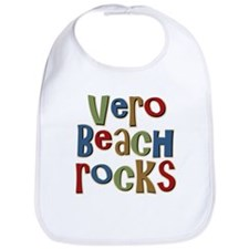 Vero Beach Florida Rocks Bib