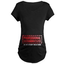 Professional Backgammon Player T-Shirt