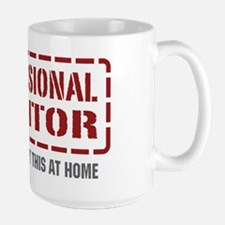 Professional Auditor Large Mug