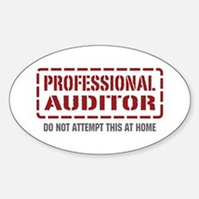 Professional Auditor Oval Decal