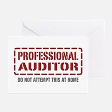 Professional Auditor Greeting Cards (Pk of 20)