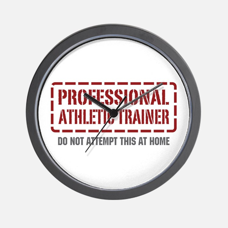 Professional Athletic Trainer Wall Clock