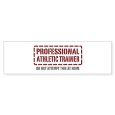 Professional Athletic Trainer Bumper Bumper Sticker