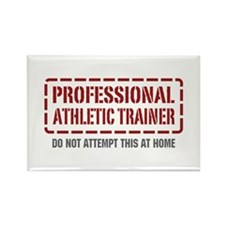 Professional Athletic Trainer Rectangle Magnet