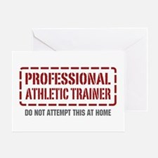 Professional Athletic Trainer Greeting Card