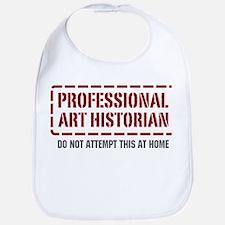 Professional Art Historian Bib