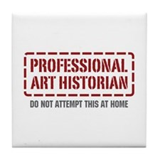 Professional Art Historian Tile Coaster