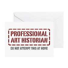 Professional Art Historian Greeting Card