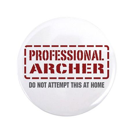 "Professional Archer 3.5"" Button (100 pack)"