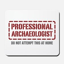 Professional Archaeologist Mousepad